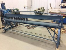 Engel 10FT air operated slip and drive notcher