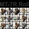 EMT-7R Power Rotary Machine Rolls