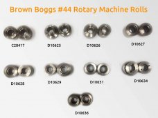 brown boggs No 44 rotary machine rolls