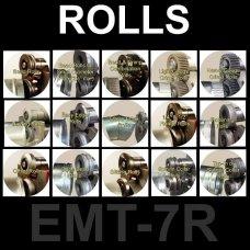 Em-Pro EMT-7R Rotary Machine Rolls