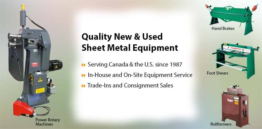 Empire selling sheet metal equipment